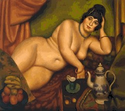 """The Queen of Sheba"" by Mark Gertler"